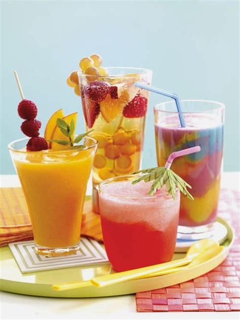 summer drinks on