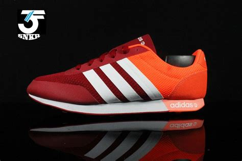Adidas Neo V Racer Kode Ss6194 1 adidas neo v racer orange kenmore cleaning co uk