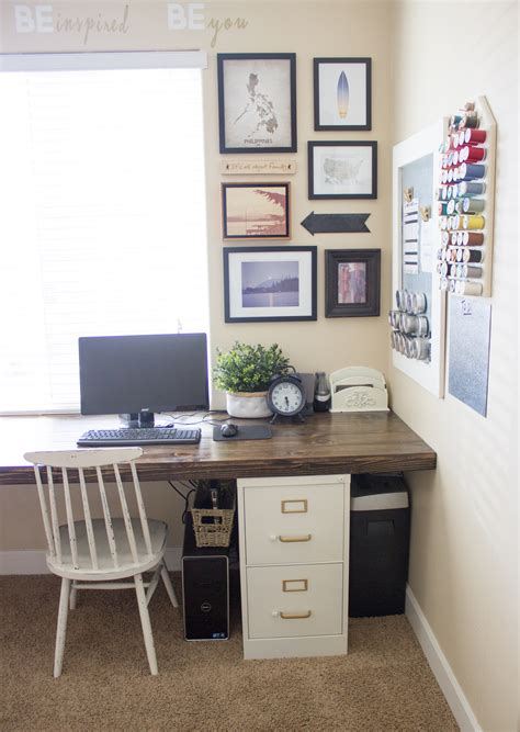 file cabinet desk diy diy file cabinet desk tutorial the big moon