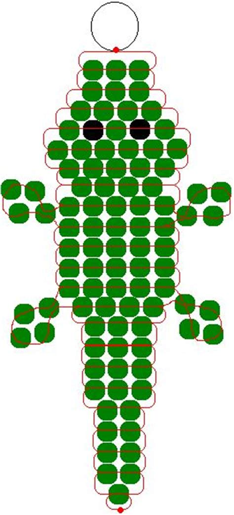 pony bead patterns free for 25 best ideas about crocodile craft on