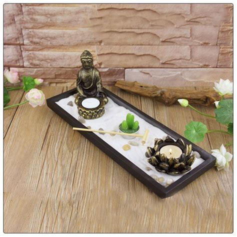 mini zen water garden how to make a tiny indoor zen garden