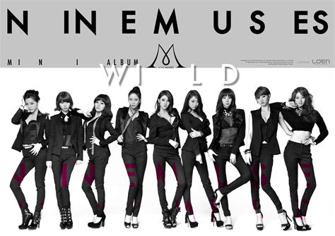 nine muses www nine muses wild wallpaper hd individual photos hot
