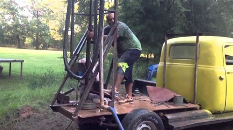 how to drill a water well in your backyard homemade water well drilling rigs crazy homemade