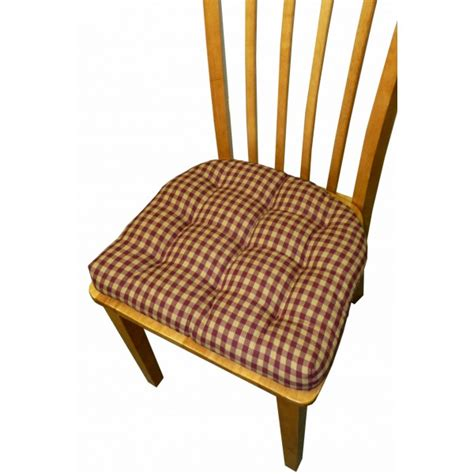 Dining Chair Cushions With Ties Chair Pads Galore And More