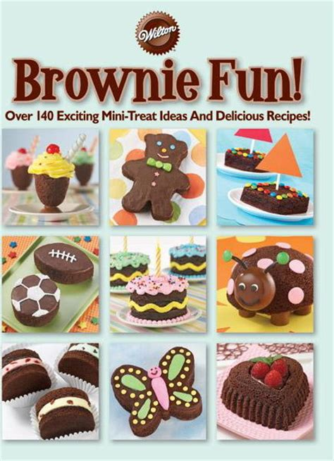 How To Decorate Brownies by Brownie Book Review Cakejournal
