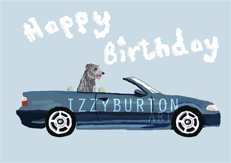 Bmw Happy Birthday Card happy birthday izzyburton