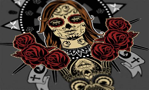 design is dead day of the dead vector t shirt design go media s arsenal