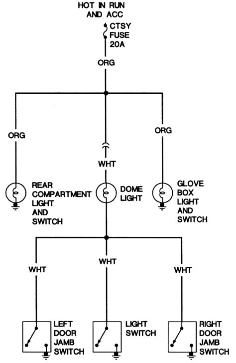dome light wiring diagram 1989 chevy k1500 1989 chevy