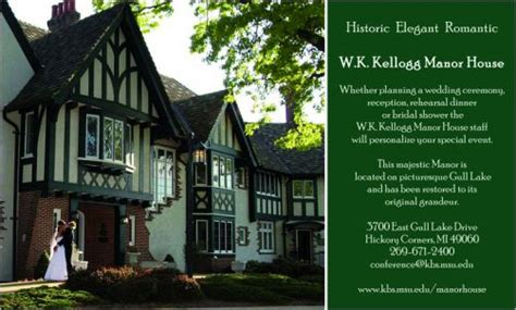 House Planning w k kellogg manor house kalamazoo reception venues