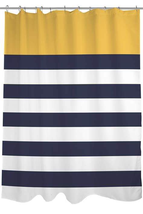 striped nautical curtains 1000 ideas about striped shower curtains on pinterest