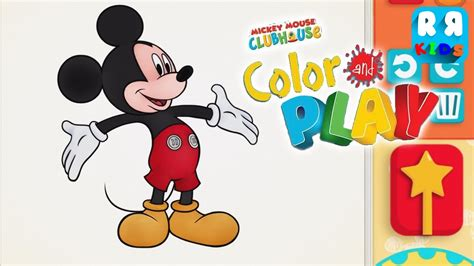 color play mickey mouse clubhouse color play by disney best