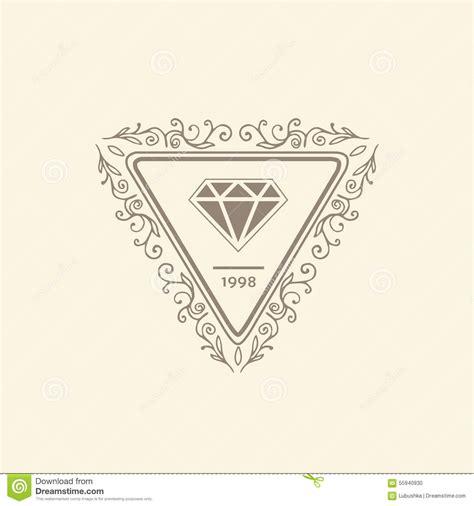 elegant logo design photoshop stylish fashion template vector