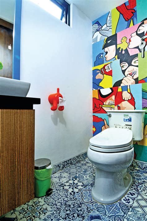 Powder Bathroom Ideas D 233 Coration De Wc Originale Archives Blog De Tendances Wc