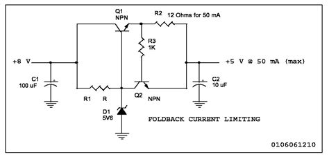 current limiting resistor for transistor typical circuits
