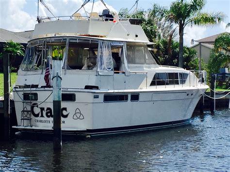 chris craft  commander yacht power boat  sale wwwyachtworldcom