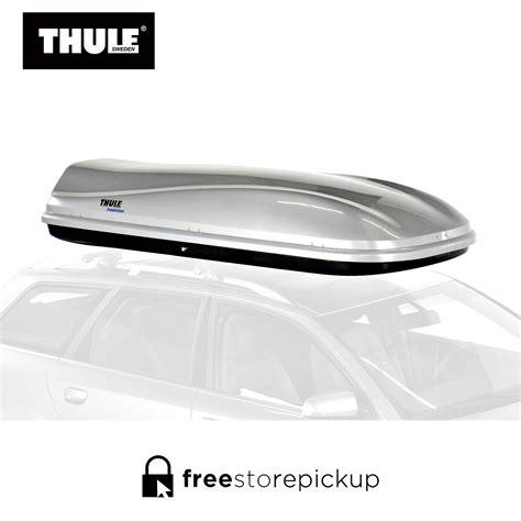 thule evolution metallic  car top carrier