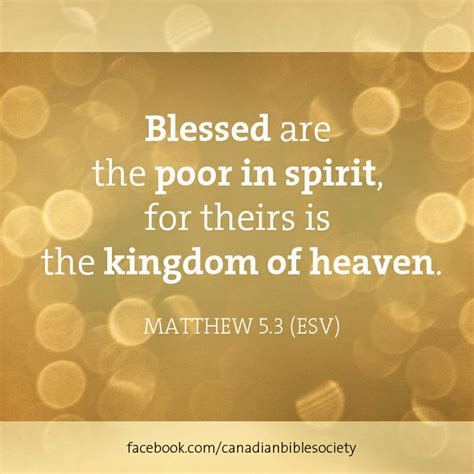 54 best matthew 5 3 blessed are the poor in spirit for