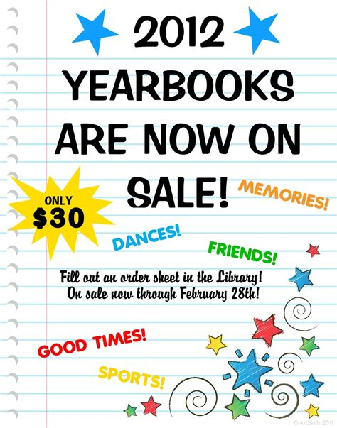 make a school yearbook poster buy yearbook poster ideas