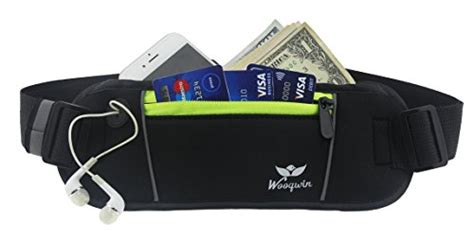 comfortable money belt woogwin sports running waist pack runner belt secure