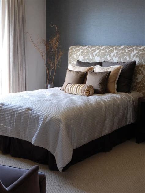 Beds With Soft Headboards by How To Make An Upholstered Headboard Hgtv