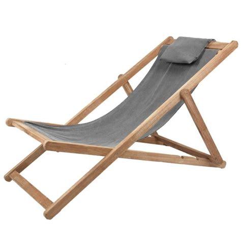 chaise longue en bois chaise longue en bois gris achat vente chaise longue