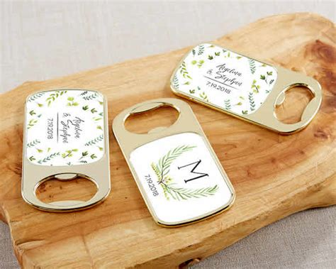 Garden Wedding Favors by Garden Wedding Favors Personalized Bottle Openers Free