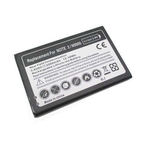 Baterai Galaxy Note 3 baterai samsung galaxy note 3 oem black jakartanotebook