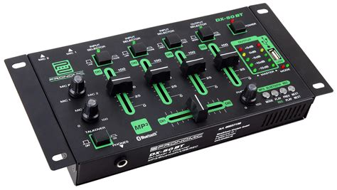 Mixer 4 Channel pronomic dx 50 4 channel usb dj mixer with recording