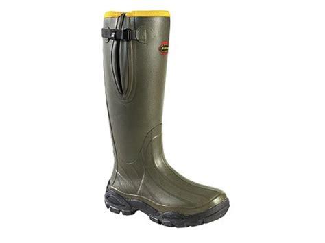 S Zipper Rubber Boots by Lacrosse Alphaburly Sport Side Zip 18 Waterproof