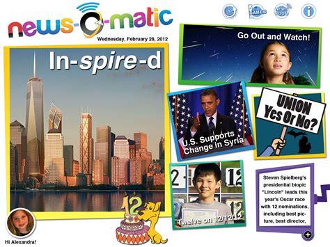 News Children by News O Matic App Review Dear Creatives
