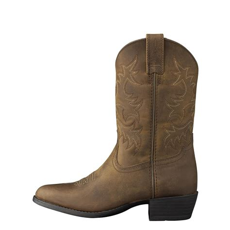 ariat unisex youth heritage western cowboy boots 10001825