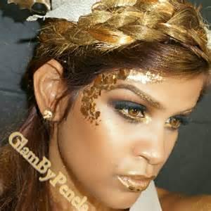 eyeliner tutorial romana diosa griega dorada tutorial de halloween youtube