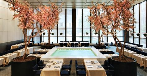 4 seasons pool room the four seasons an iconic interior landmark faces an uncertain future 6sqft