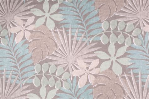 teal drapery fabric 9 yards waverly palm printed cotton drapery fabric in teal