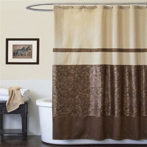 brown shower curtain set 15 best ideas about brown shower curtains on pinterest