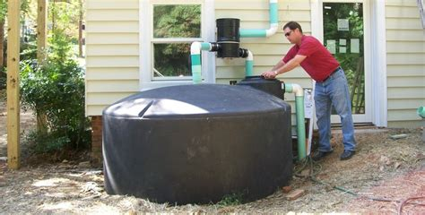 water holding tank for house pt 2 rain harvesting for your home water storage constant craftsman