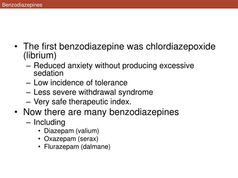 Librium For Benzo Detox by Ppt Anxiety Disorders Powerpoint Presentation Id 80258