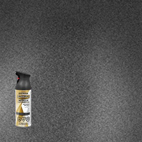 rust oleum universal metallic carbon mist   home