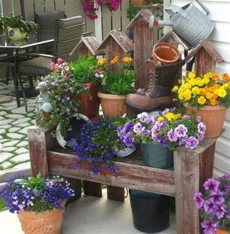 Handmade Garden Decor Ideas - handmade decor 46 ideas for your flower