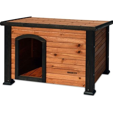 precision outback log cabin dog house precision pet precision pet outback log cabin dog house houses