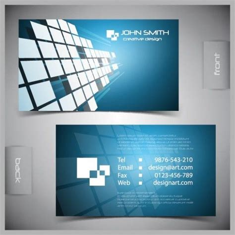 futuristic business card template blue futuristic business card vector template http www