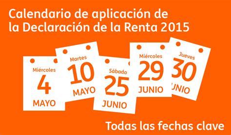 Calendario Declaracion De Renta 2015 Cuando Se Puede Presentar La Declaracion 2015