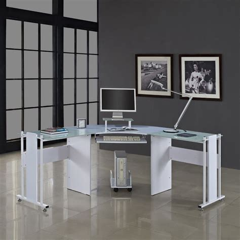 Glass Corner Office Desk 25 Best Ideas About Glass Corner Desk On Pinterest Corner Vanity Table Makeup Vanity Set And