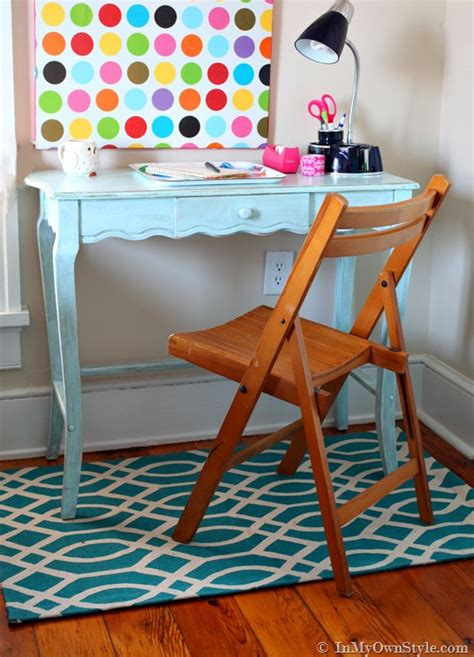 Hand Painted Home Decor A Family Affair Diy Chalk Painted Desk In My Own Style