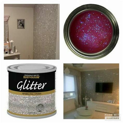 Living Room Glitter Paint Best 25 Glitter Walls Ideas On Sparkle
