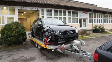 Audi Rs4 Unfall tots parts