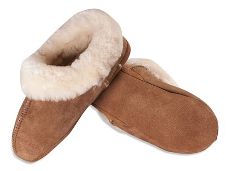 slippers sheepskin nordvek premium womens genuine sheepskin slippers soft