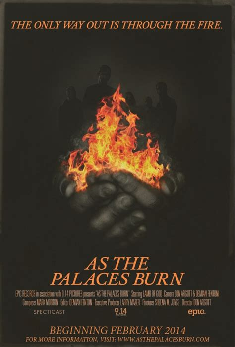 film dokumenter lamb of god lamb of god as the palaces burn film ghost cult magazine