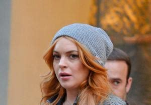Is Lindsay Lohan Cleaning Up Act by It S A Shock Lilo S All Biz For New Ny Daily