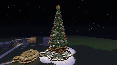 giant christmas tree schematic minecraft project